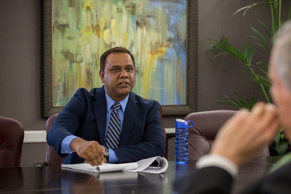 Raj Joins Faculty at University of Arkansas at Pine Bluff