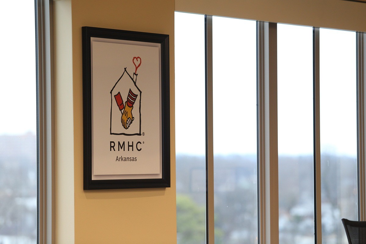 Ronald Ronald McDonald House Charities Sign