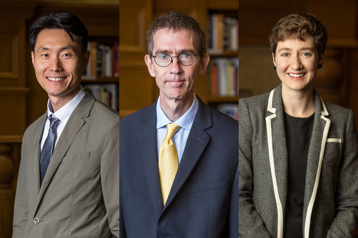 Dr. Chul Hyun Park, Dr. Robert C. Richards, Jr., and Katerina Noori